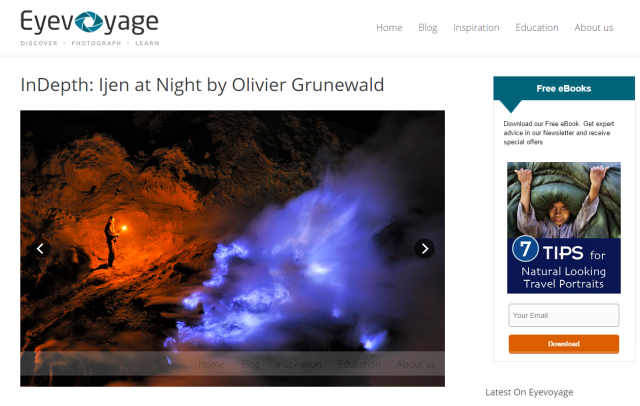 InDepth_ Ijen at Night by Olivier Grune
